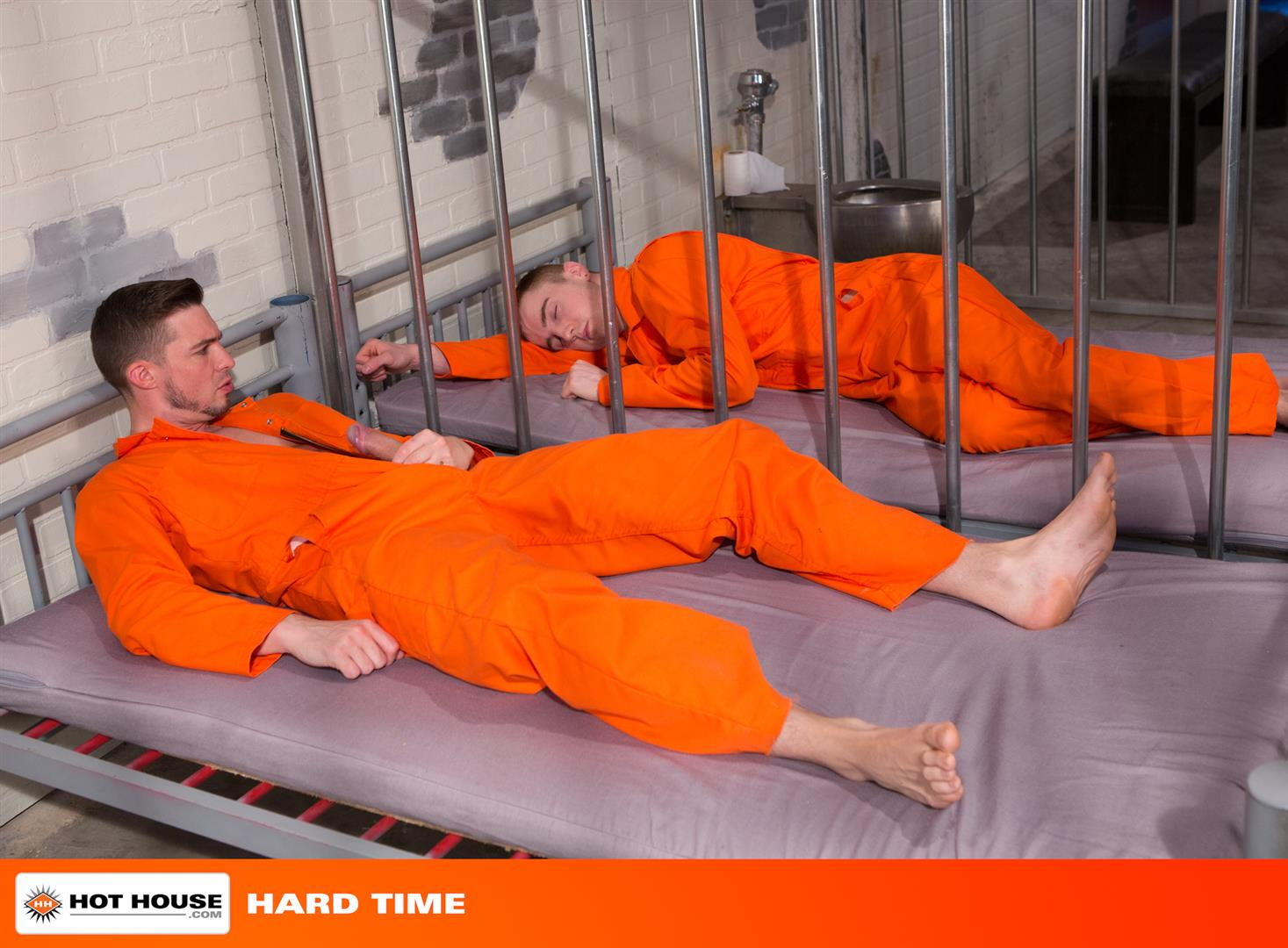 Hot-House-Hard-Time-Sam-Barclay-and-JP-Dubois-Guys-Fucking-in-Prison-Big-Uncut-Cocks-Amateur-Gay-Porn-01 JP Dubois Takes A Hard Uncut Cock Up His Ass During Lockup At The County Jail