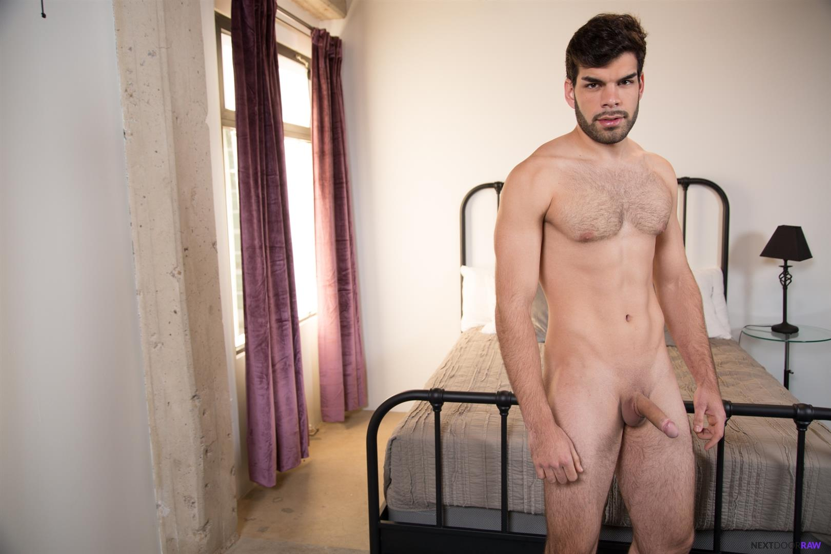 Next-Door-Raw-Dalton-Riley-and-Blake-Hunter-and-Zay-Hardy-Bareback-Threeway-06 Gay Boyfriends Invite A Trick Over For A Bareback Threeway